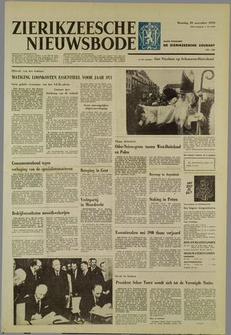 Zierikzeesche Nieuwsbode 1970-11-23