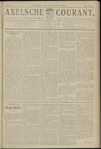 Axelsche Courant 1924-08-26