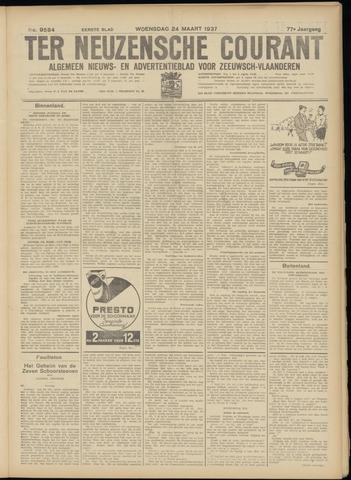 Ter Neuzensche Courant. Algemeen Nieuws- en Advertentieblad voor Zeeuwsch-Vlaanderen / Neuzensche Courant ... (idem) / (Algemeen) nieuws en advertentieblad voor Zeeuwsch-Vlaanderen 1937-03-24