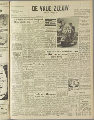 de Vrije Zeeuw 1961-10-30