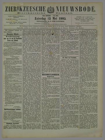 Zierikzeesche Nieuwsbode 1905-05-13