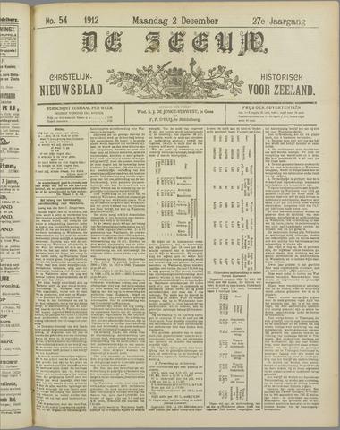 De Zeeuw. Christelijk-historisch nieuwsblad voor Zeeland 1912-12-02