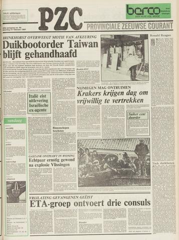 Provinciale Zeeuwse Courant 1981-02-21
