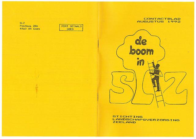 Landschapsbeheer Zeeland - de Boom in 1992-08-01