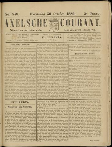 Axelsche Courant 1889-10-30