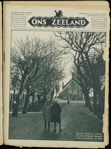 Ons Zeeland / Zeeuwsche editie 1934-01-26
