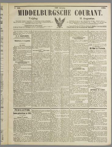 Middelburgsche Courant 1905-08-11