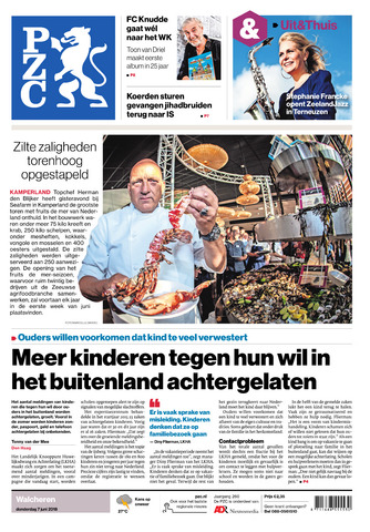 Provinciale Zeeuwse Courant 2018-06-07