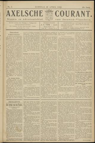 Axelsche Courant 1925-04-21
