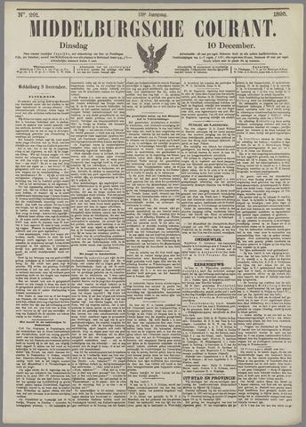Middelburgsche Courant 1895-12-10