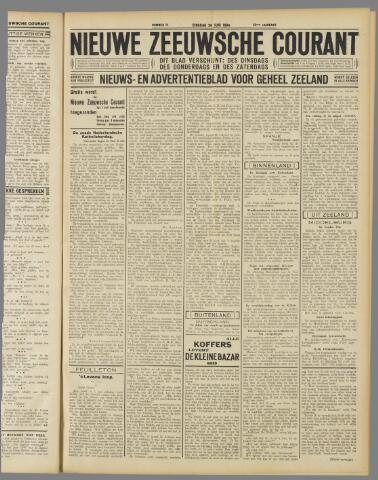 Nieuwe Zeeuwsche Courant 1934-06-26