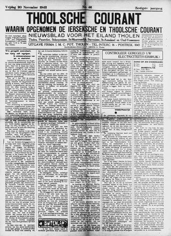Ierseksche en Thoolsche Courant 1942-11-20