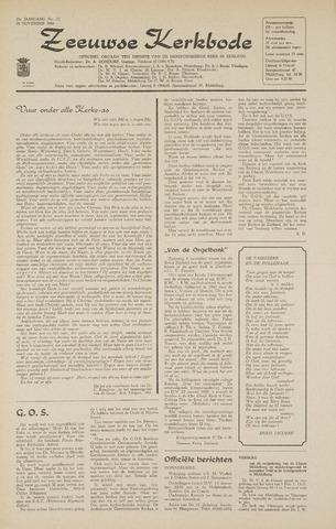 Zeeuwsche kerkbode, weekblad gewijd aan de belangen der gereformeerde kerken/ Zeeuwsch kerkblad 1968-11-28