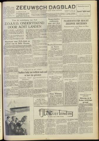Zeeuwsch Dagblad 1954-09-09