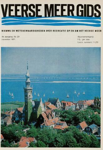 Zeeland Magazine / Veerse Meer Gids 1971-11-01