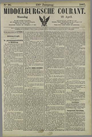 Middelburgsche Courant 1887-04-25