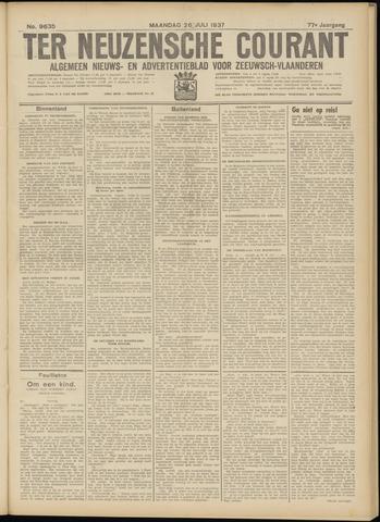 Ter Neuzensche Courant. Algemeen Nieuws- en Advertentieblad voor Zeeuwsch-Vlaanderen / Neuzensche Courant ... (idem) / (Algemeen) nieuws en advertentieblad voor Zeeuwsch-Vlaanderen 1937-07-26