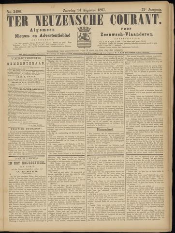Ter Neuzensche Courant. Algemeen Nieuws- en Advertentieblad voor Zeeuwsch-Vlaanderen / Neuzensche Courant ... (idem) / (Algemeen) nieuws en advertentieblad voor Zeeuwsch-Vlaanderen 1897-08-14