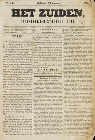 Het Zuiden, Christelijk-historisch blad 1880-01-10