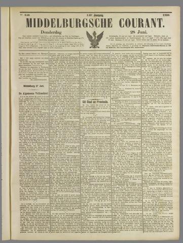 Middelburgsche Courant 1906-06-28