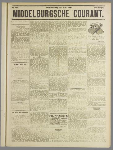 Middelburgsche Courant 1927-05-12