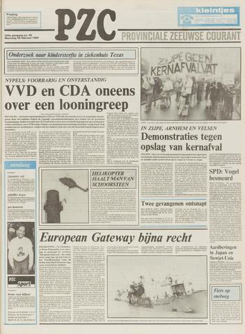 Provinciale Zeeuwse Courant 1983-02-28