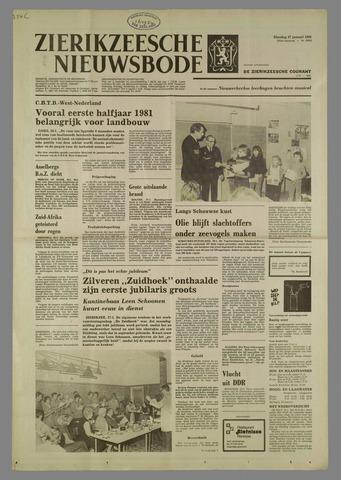 Zierikzeesche Nieuwsbode 1981-01-27