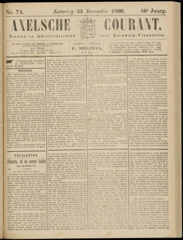 Axelsche Courant 1900-12-22