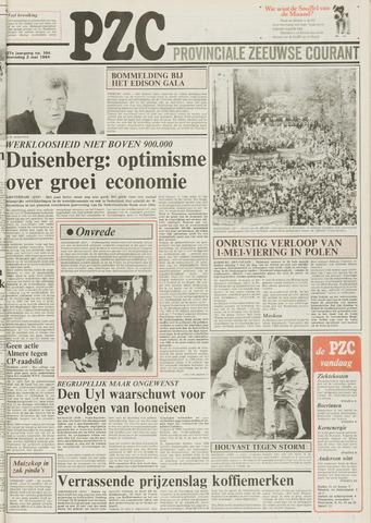 Provinciale Zeeuwse Courant 1984-05-02