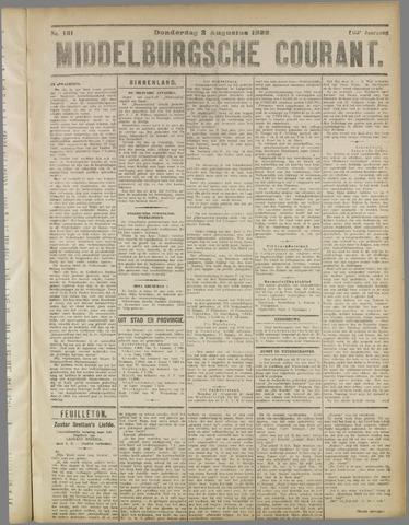 Middelburgsche Courant 1922-08-03