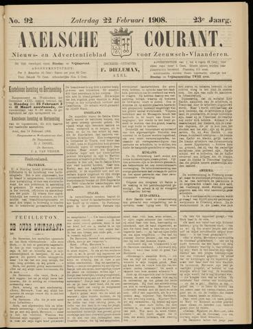 Axelsche Courant 1908-02-22