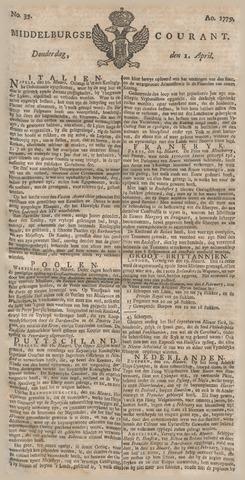 Middelburgsche Courant 1779-04-01