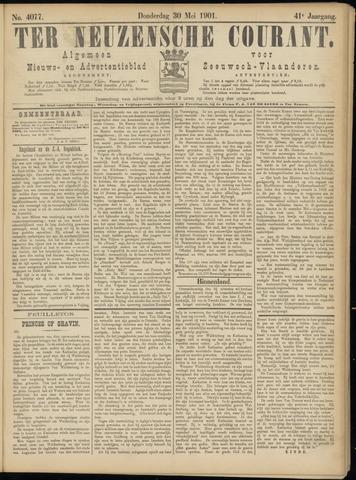 Ter Neuzensche Courant. Algemeen Nieuws- en Advertentieblad voor Zeeuwsch-Vlaanderen / Neuzensche Courant ... (idem) / (Algemeen) nieuws en advertentieblad voor Zeeuwsch-Vlaanderen 1901-05-30