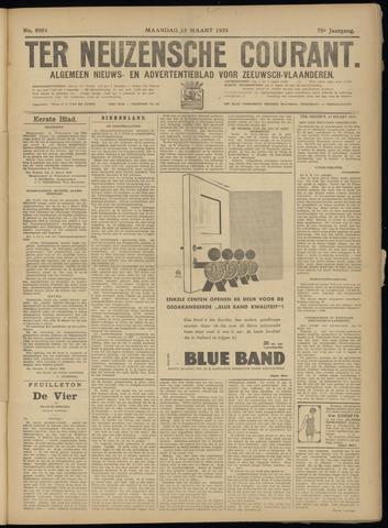Ter Neuzensche Courant. Algemeen Nieuws- en Advertentieblad voor Zeeuwsch-Vlaanderen / Neuzensche Courant ... (idem) / (Algemeen) nieuws en advertentieblad voor Zeeuwsch-Vlaanderen 1933-03-13