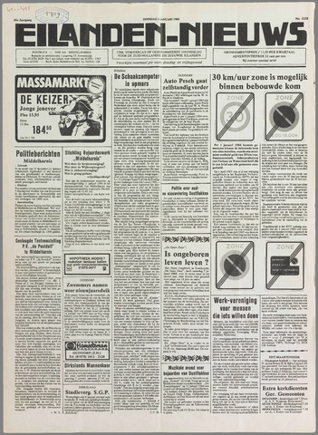 Eilanden-nieuws. Christelijk streekblad op gereformeerde grondslag 1984