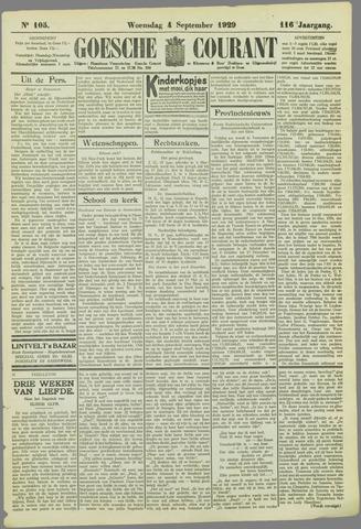 Goessche Courant 1929-09-04