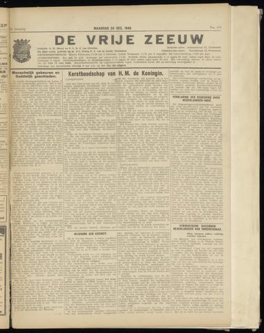 de Vrije Zeeuw 1945-12-24