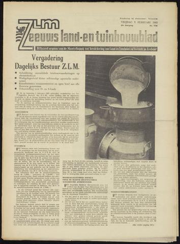 Zeeuwsch landbouwblad ... ZLM land- en tuinbouwblad 1965-02-05