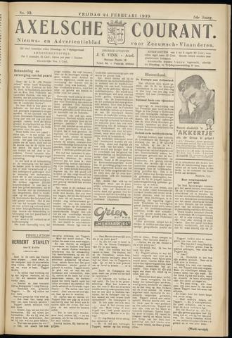 Axelsche Courant 1939-02-24
