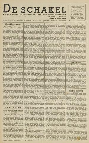 De Schakel 1949-04-01