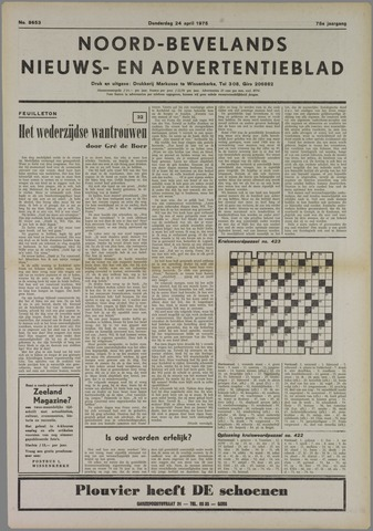 Noord-Bevelands Nieuws- en advertentieblad 1975-04-24
