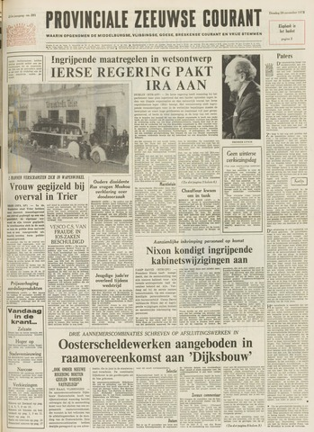 Provinciale Zeeuwse Courant 1972-11-28