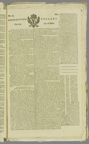Middelburgsche Courant 1809-03-18