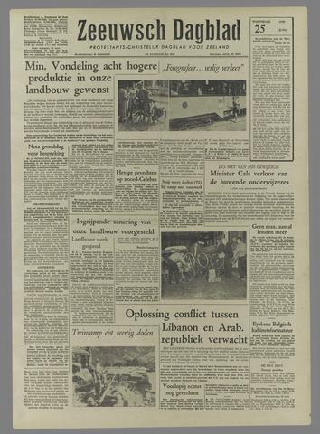 Zeeuwsch Dagblad 1958-06-25