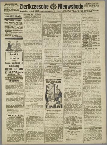 Zierikzeesche Nieuwsbode 1925-04-08