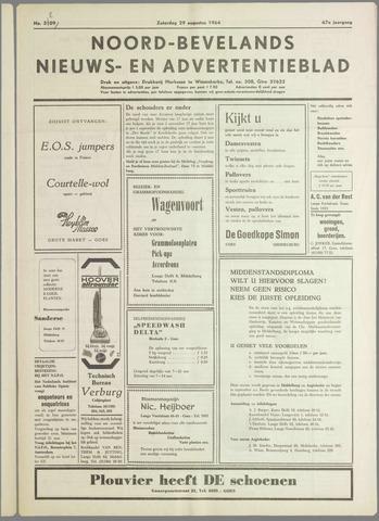 Noord-Bevelands Nieuws- en advertentieblad 1964-08-29