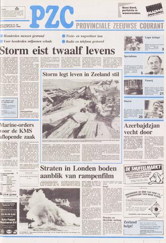 Provinciale Zeeuwse Courant 1990-01-26