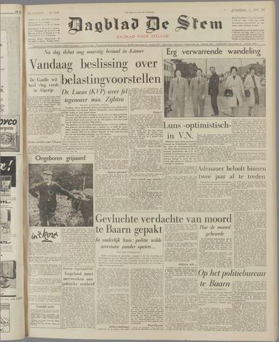 de Stem 1961-11-09