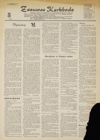 Zeeuwsche kerkbode, weekblad gewijd aan de belangen der gereformeerde kerken/ Zeeuwsch kerkblad 1964-12-18