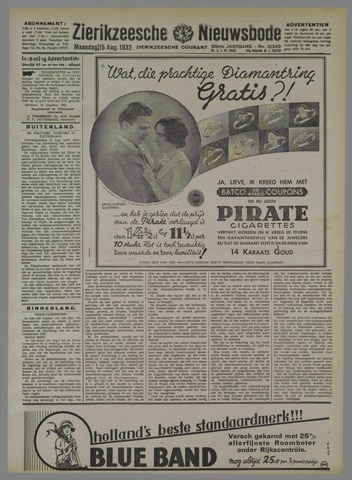 Zierikzeesche Nieuwsbode 1932-08-15